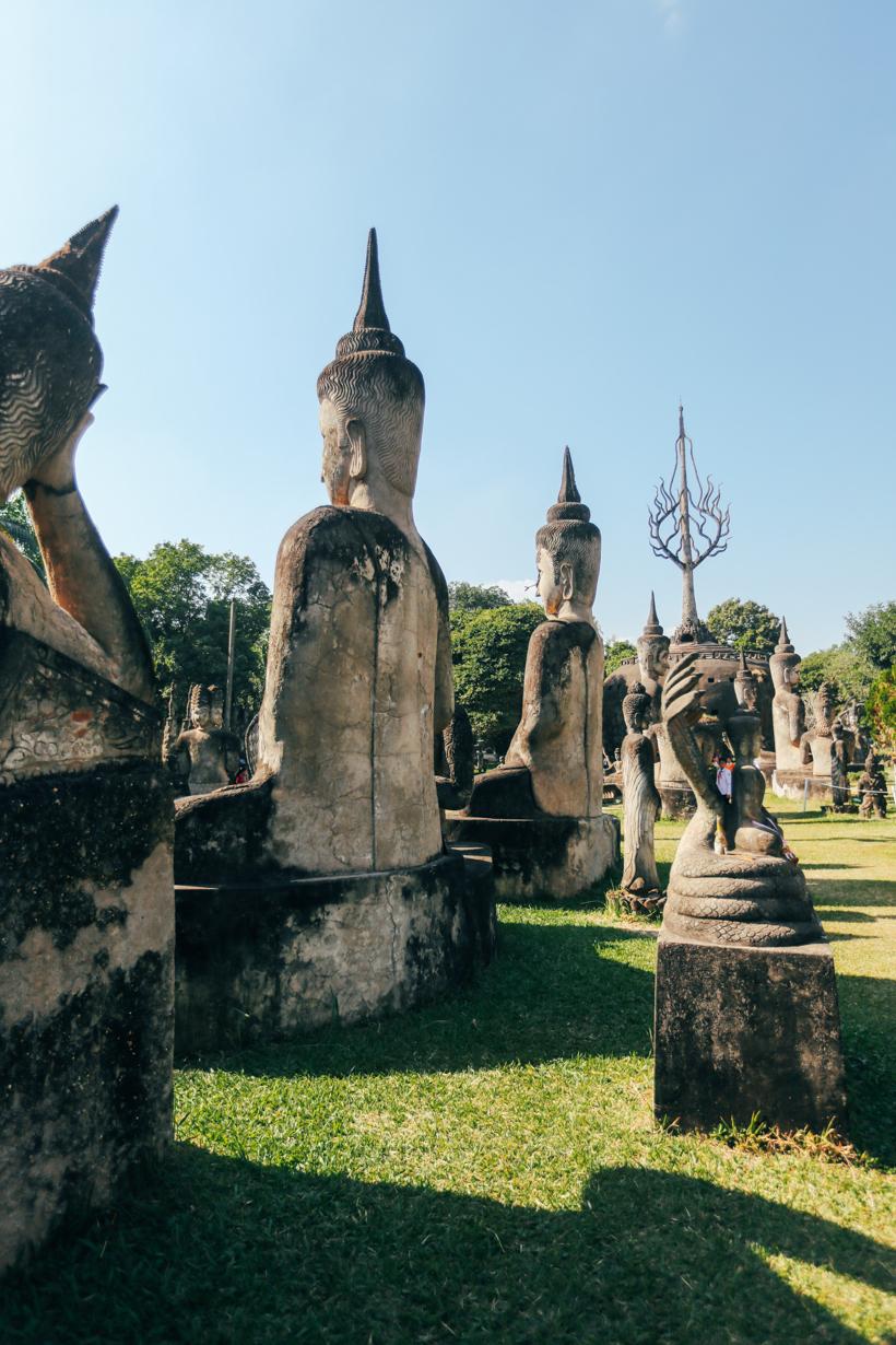 Buddha Park in Laos | DesignComb