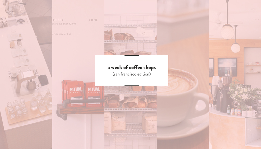 SF Coffee Shops (with wifi) | DesignComb