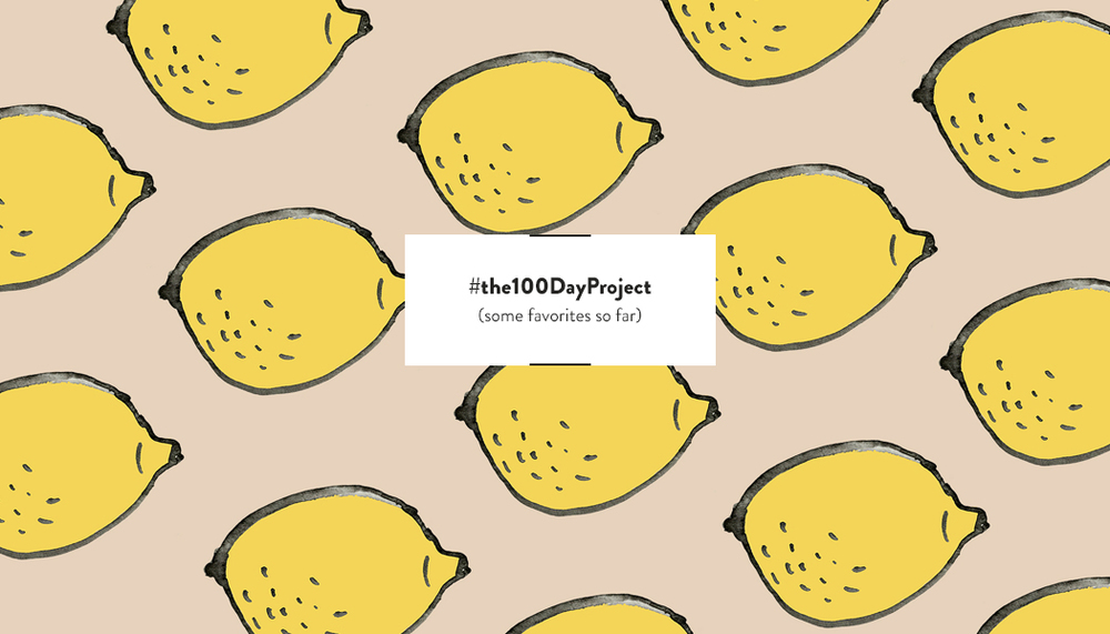 #the100DayProject | DesignComb
