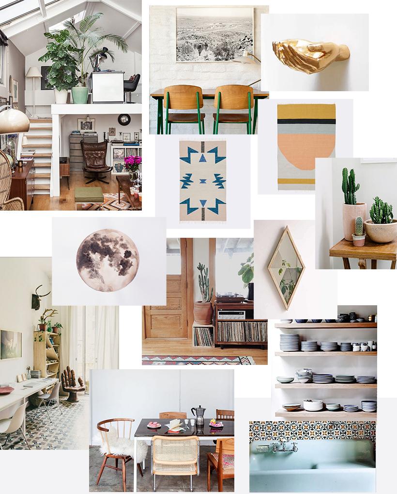 The Joshua Tree House (moodboard) | DesignComb