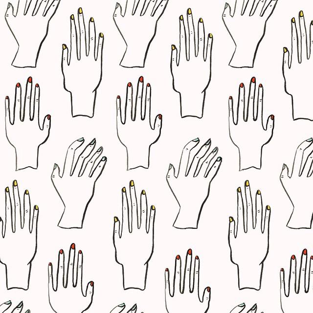 Nail SalonPattern by Sara Combs | DesignComb