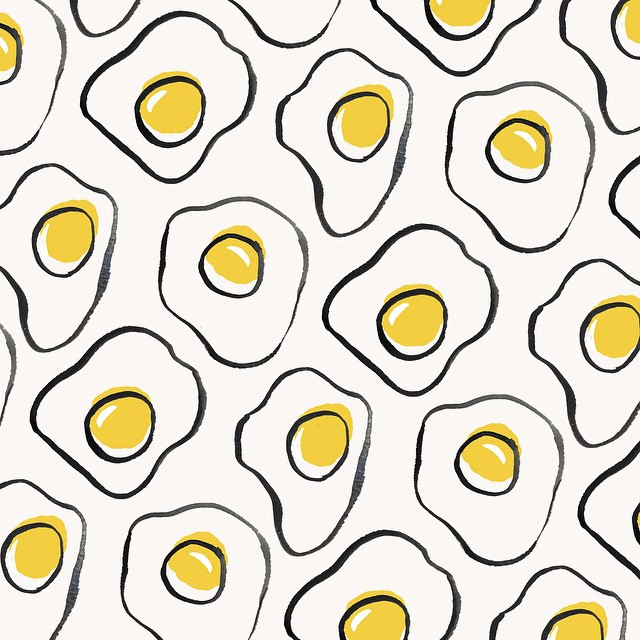 Eggs Pattern by Sara Combs | DesignComb