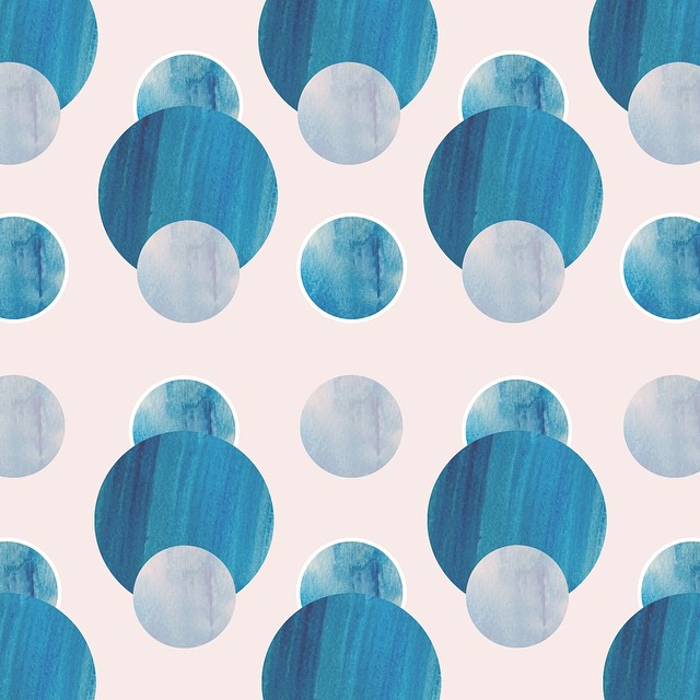Ocean Beach Pattern by Sara Combs | DesignComb