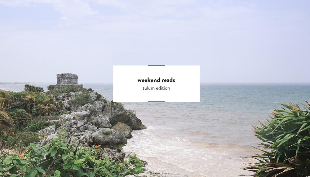 Weekend Reads #13 | DesignComb