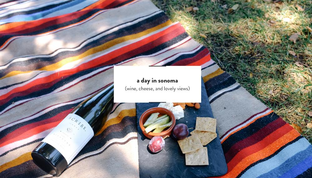 A half-day Sonoma Itinerary| DesignComb