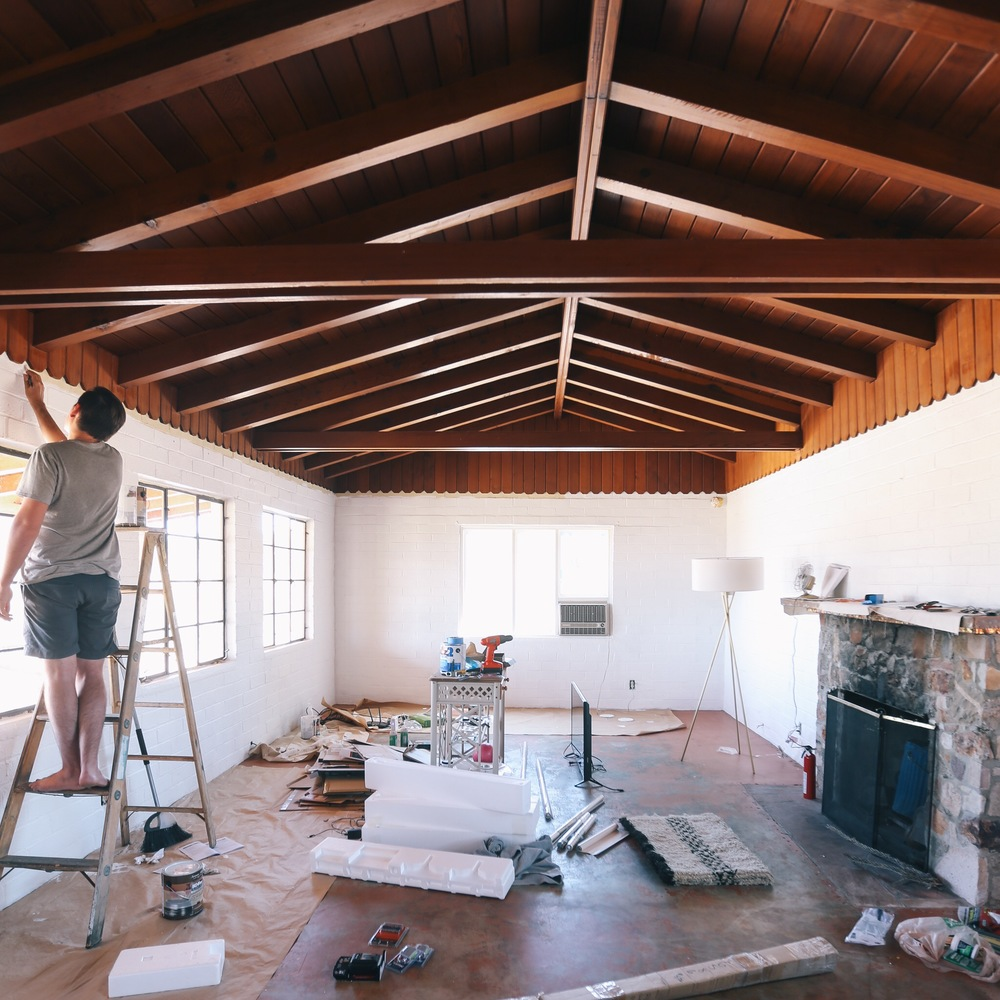 The Joshua Tree House progress | DesignComb