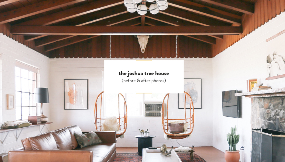 The Joshua Tree House, Before U0026 After Photos | DesignComb