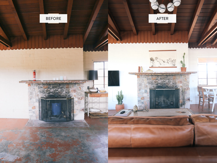 The Joshua Tree House Before After Photos