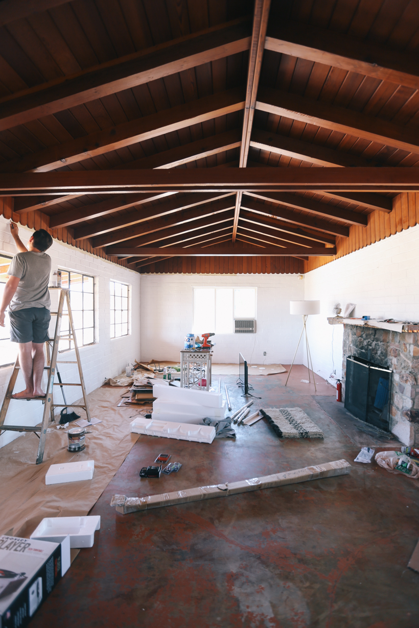 The Joshua Tree House in progress | DesignComb