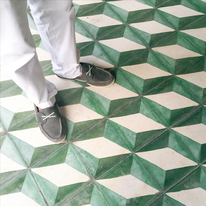 Tiles in Isla Mujeres, Mexico | DesignComb
