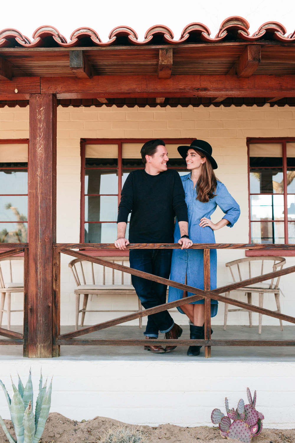 Sara and Rich Combs at The Joshua Tree House | DesignComb