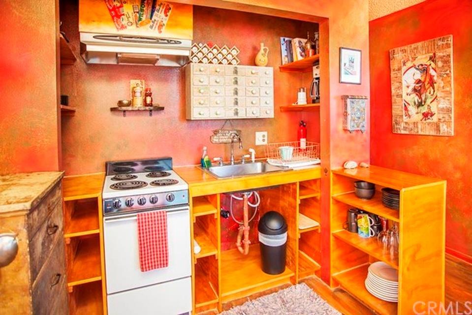 The Joshua Tree Casita Kitchen (before) | DesignComb