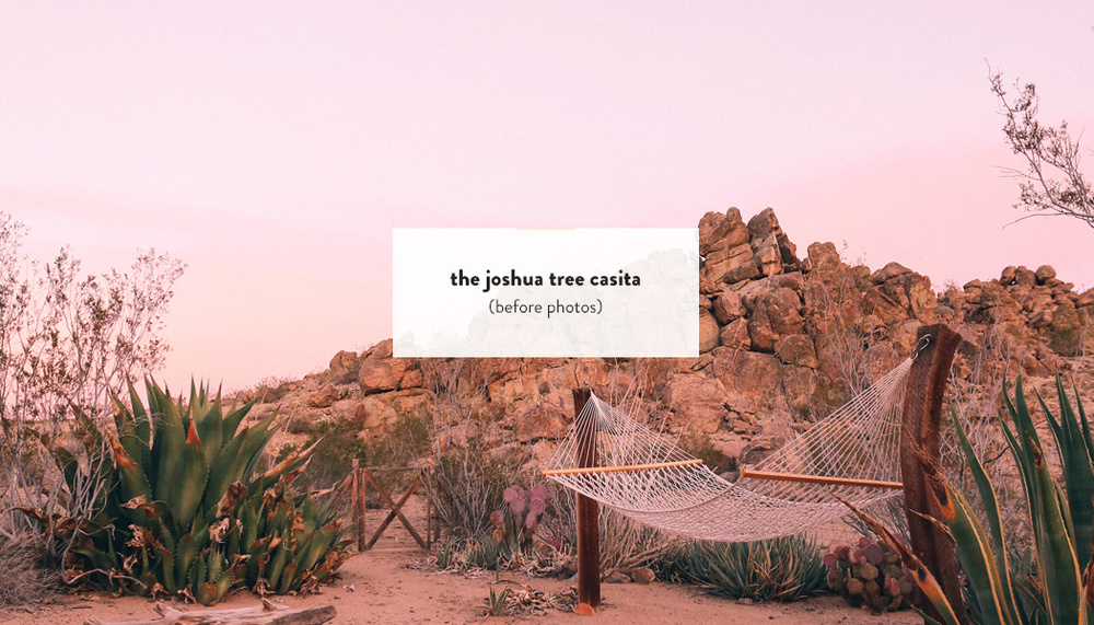 The Joshua Tree Casita (before) | DesignComb