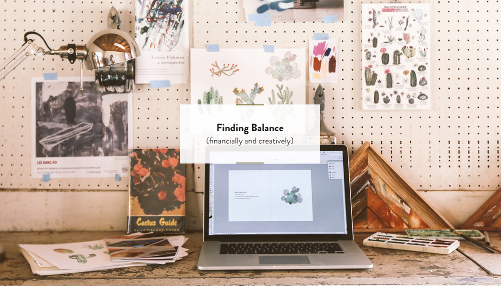 Finding Balance: Financially and Creatively | DesignComb