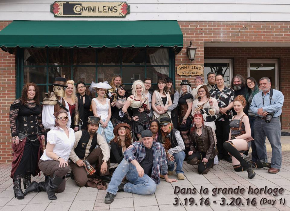 Omni Lens Studios steam punk group shot