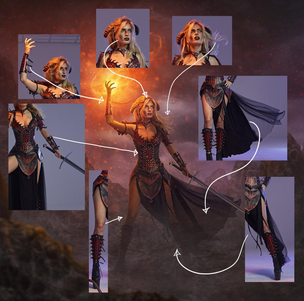 The Dragon Slayer Pieces