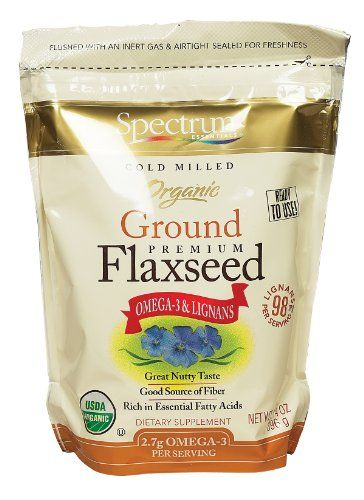 Spectrum Essentials, Organic Ground Flaxseed