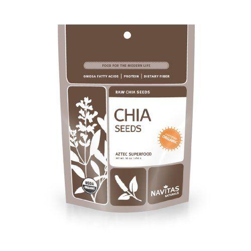 Navitas Naturals, Organic Raw Chia Seeds