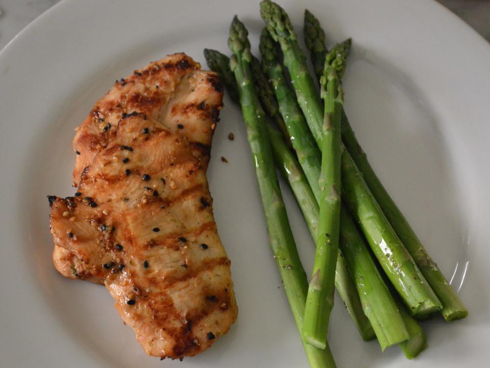 Chicken + Asparagus