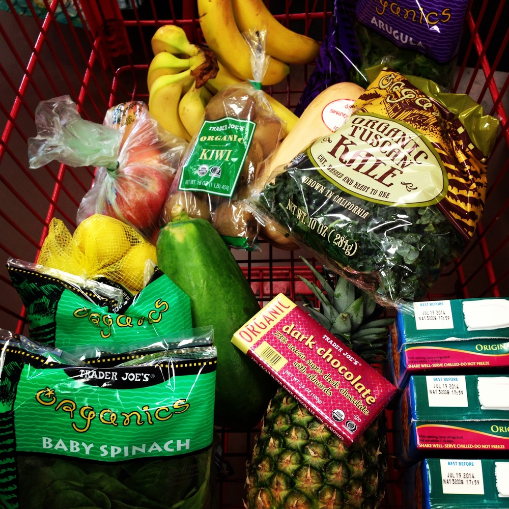 Trader Joe's Grocery Shopping