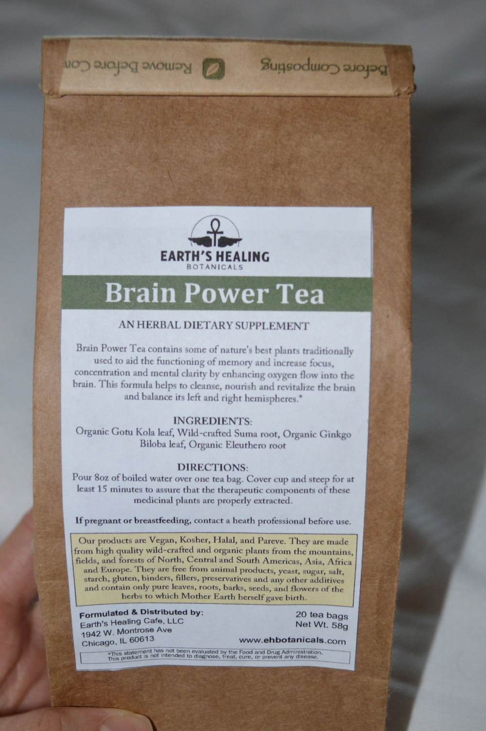 Brain Power Tea