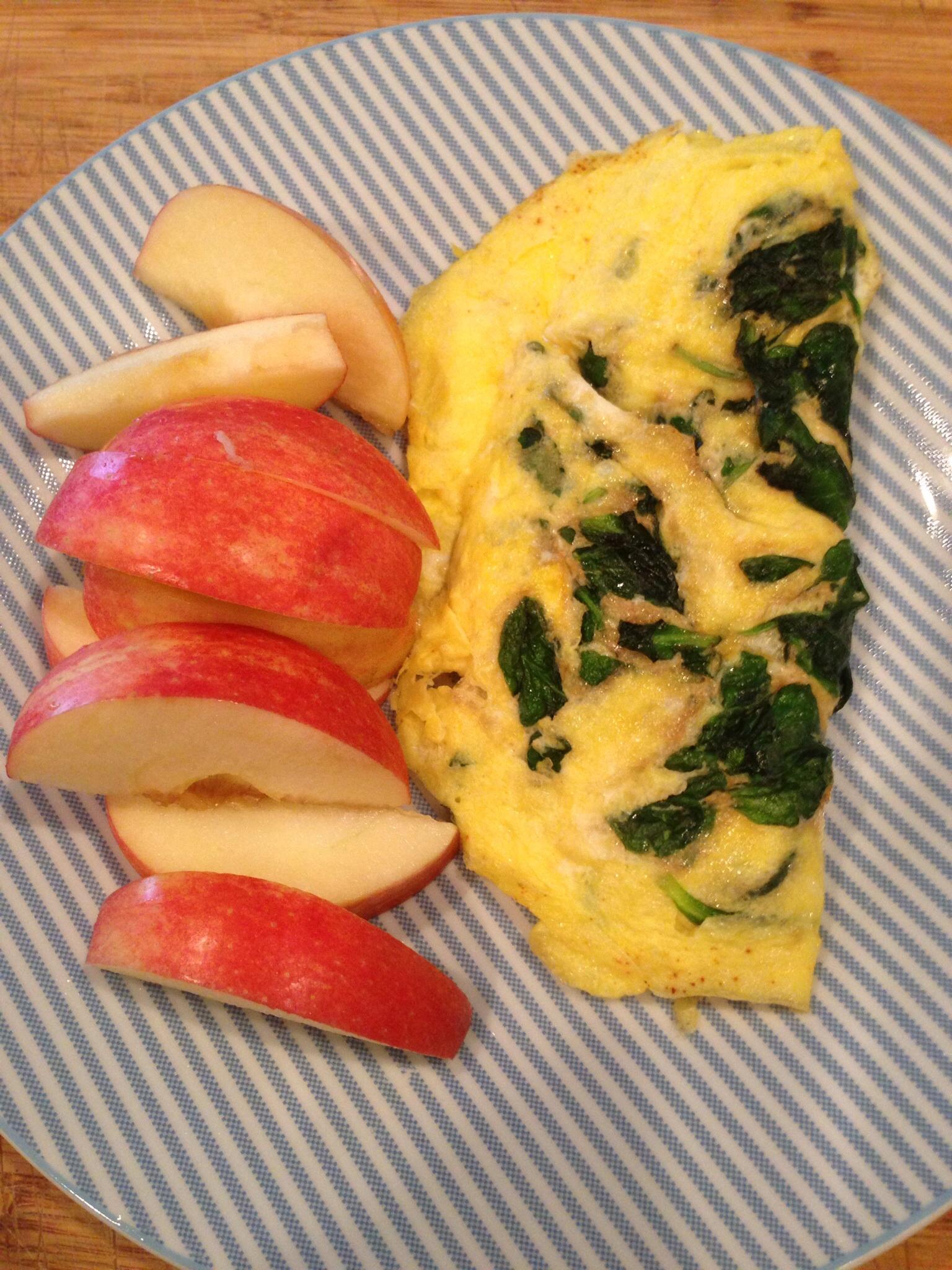 Eggs & Apple