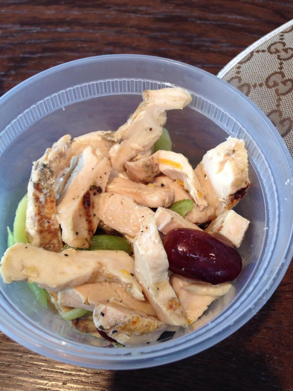 Grilled Chicken & Grape Salad