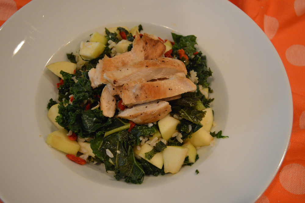 Chicken & Kale