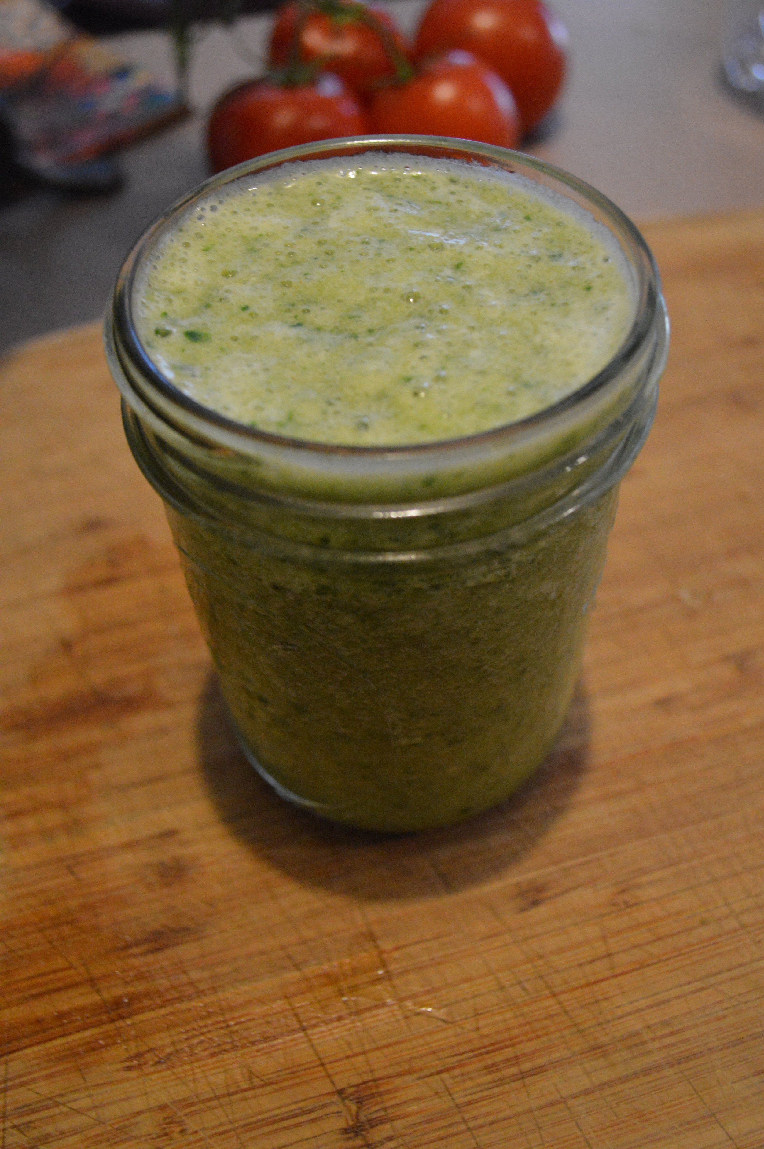 Green, Fruit Smoothie