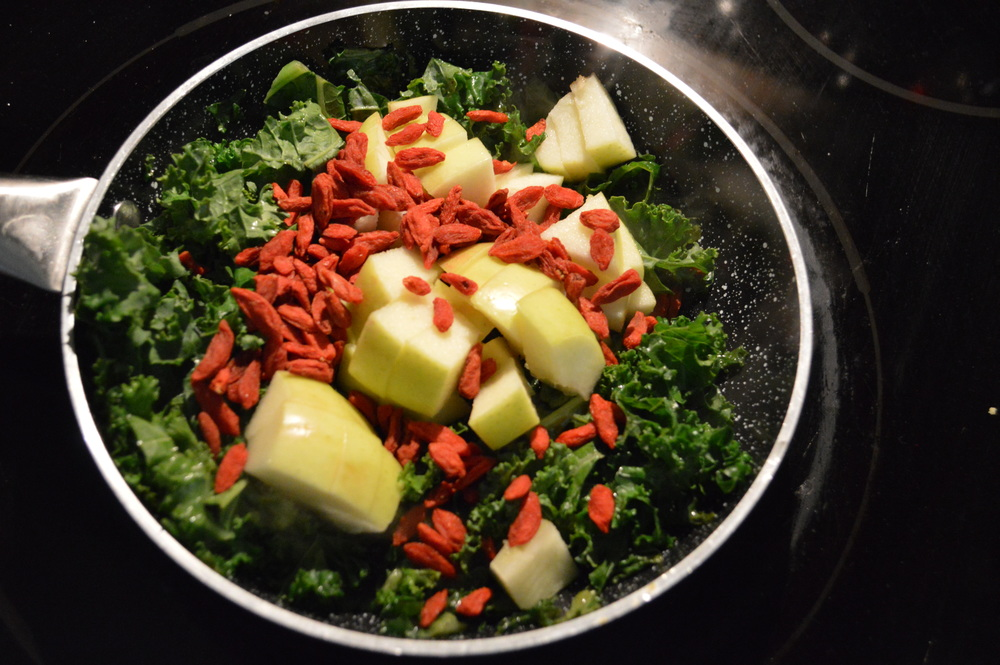 Kale, Apple & goji Berries