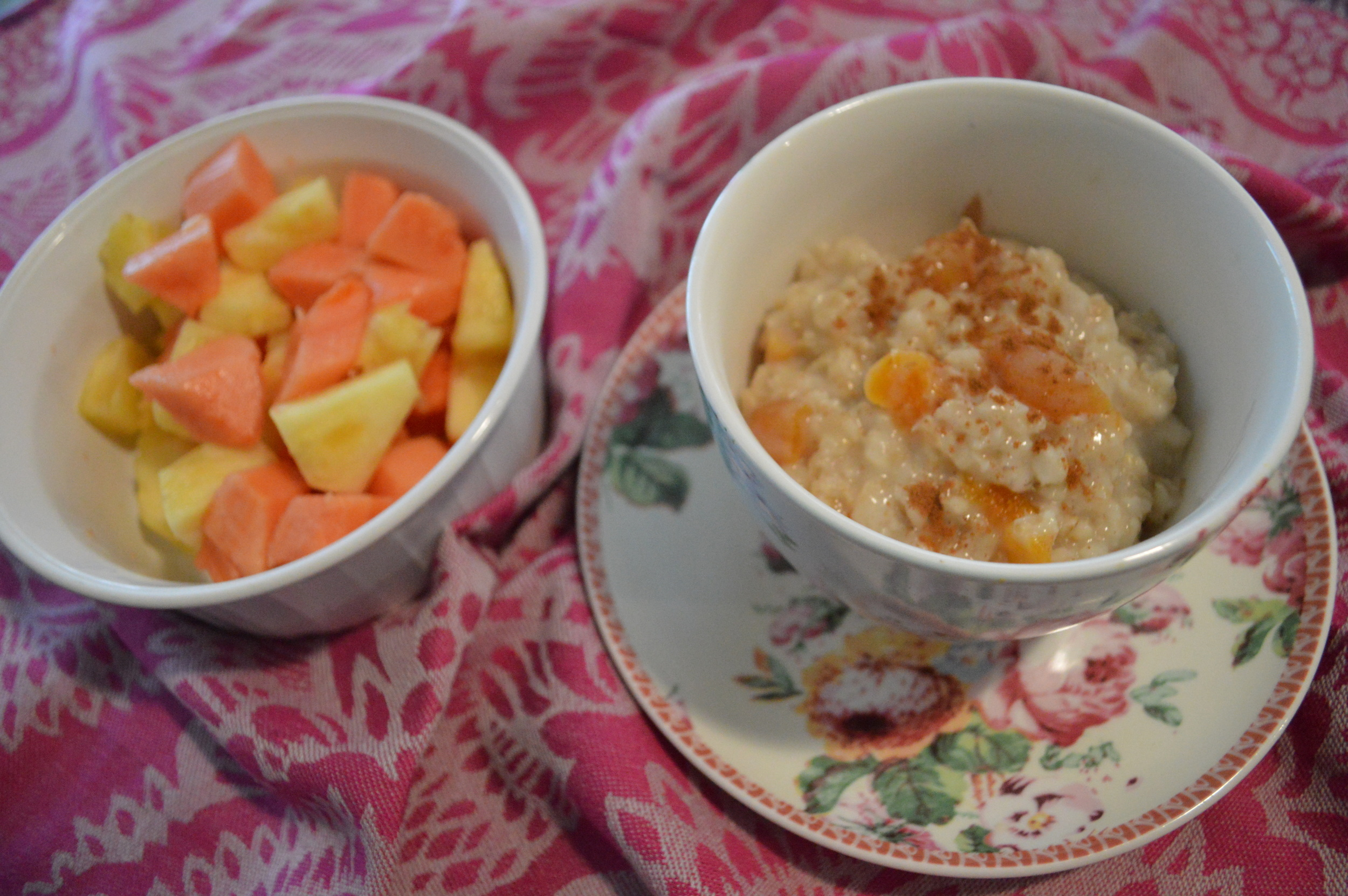 Oatmeal & Fruit