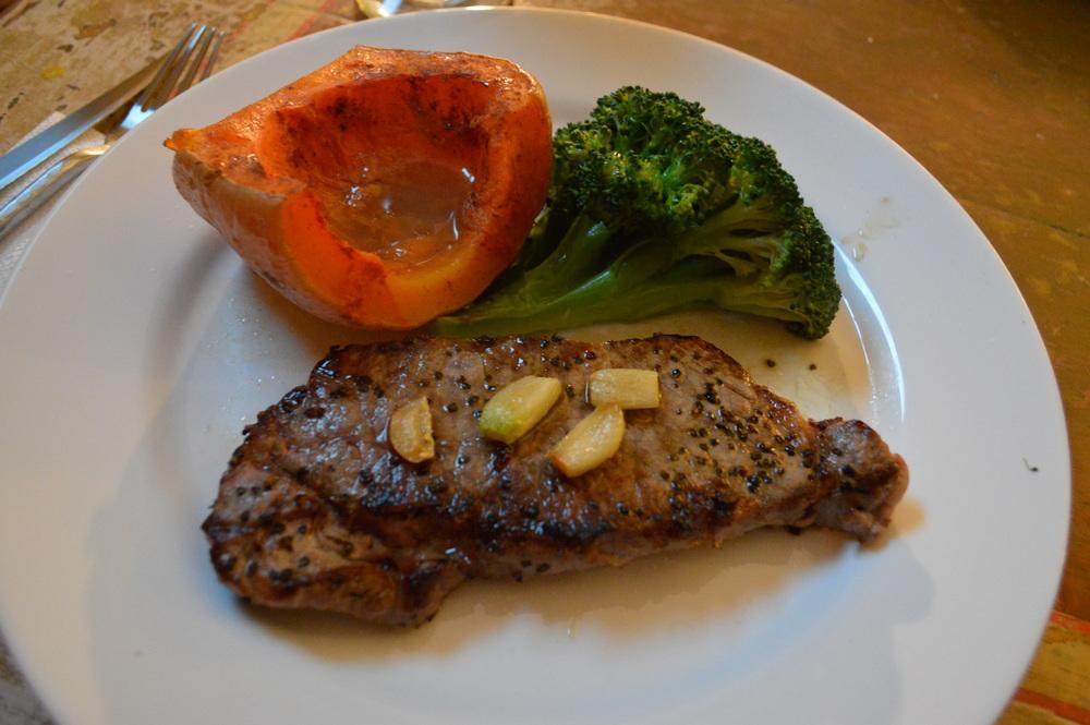 Steak, Brccoli & Squash
