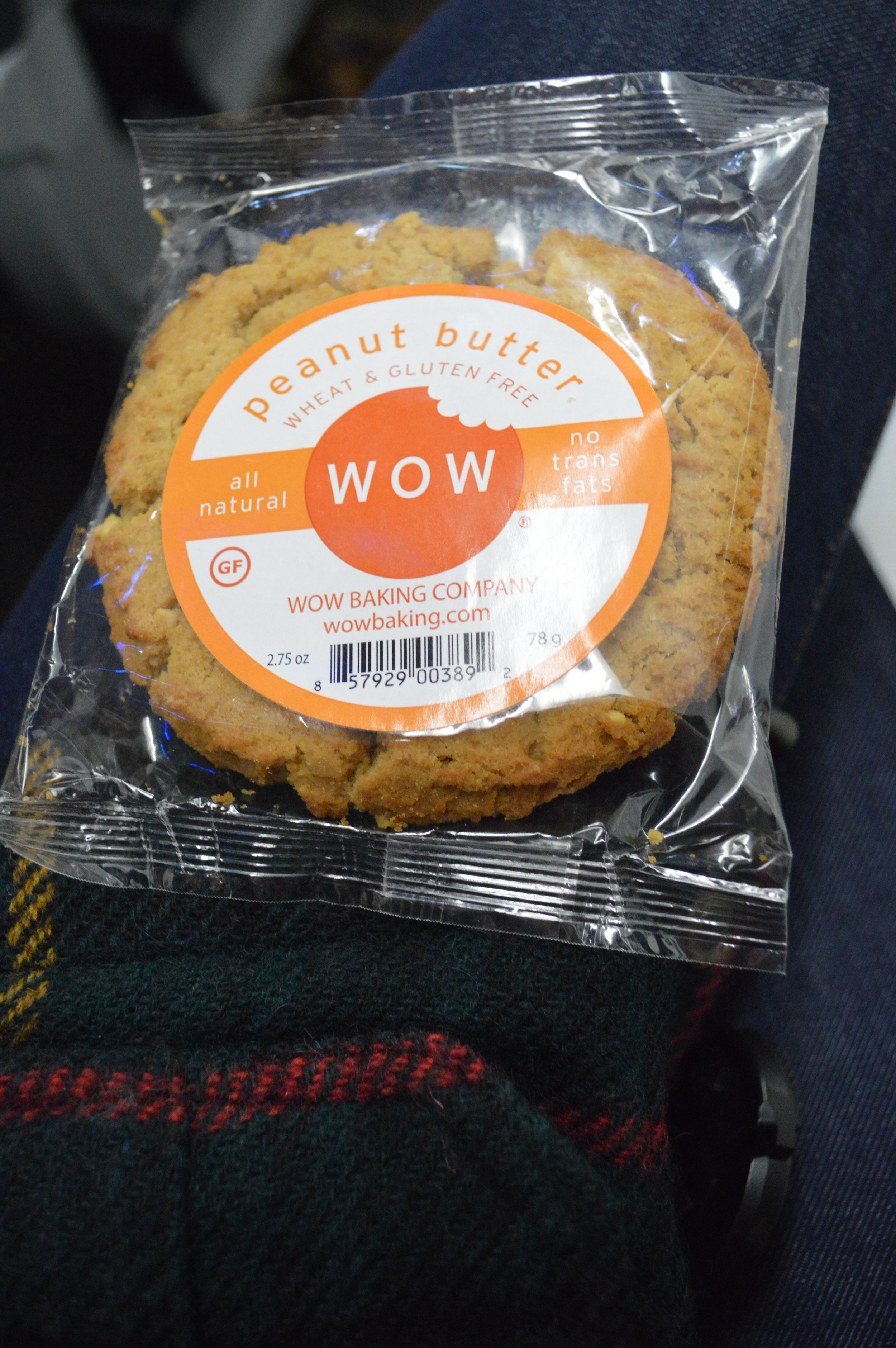 Wow Peanut Butter Cookie
