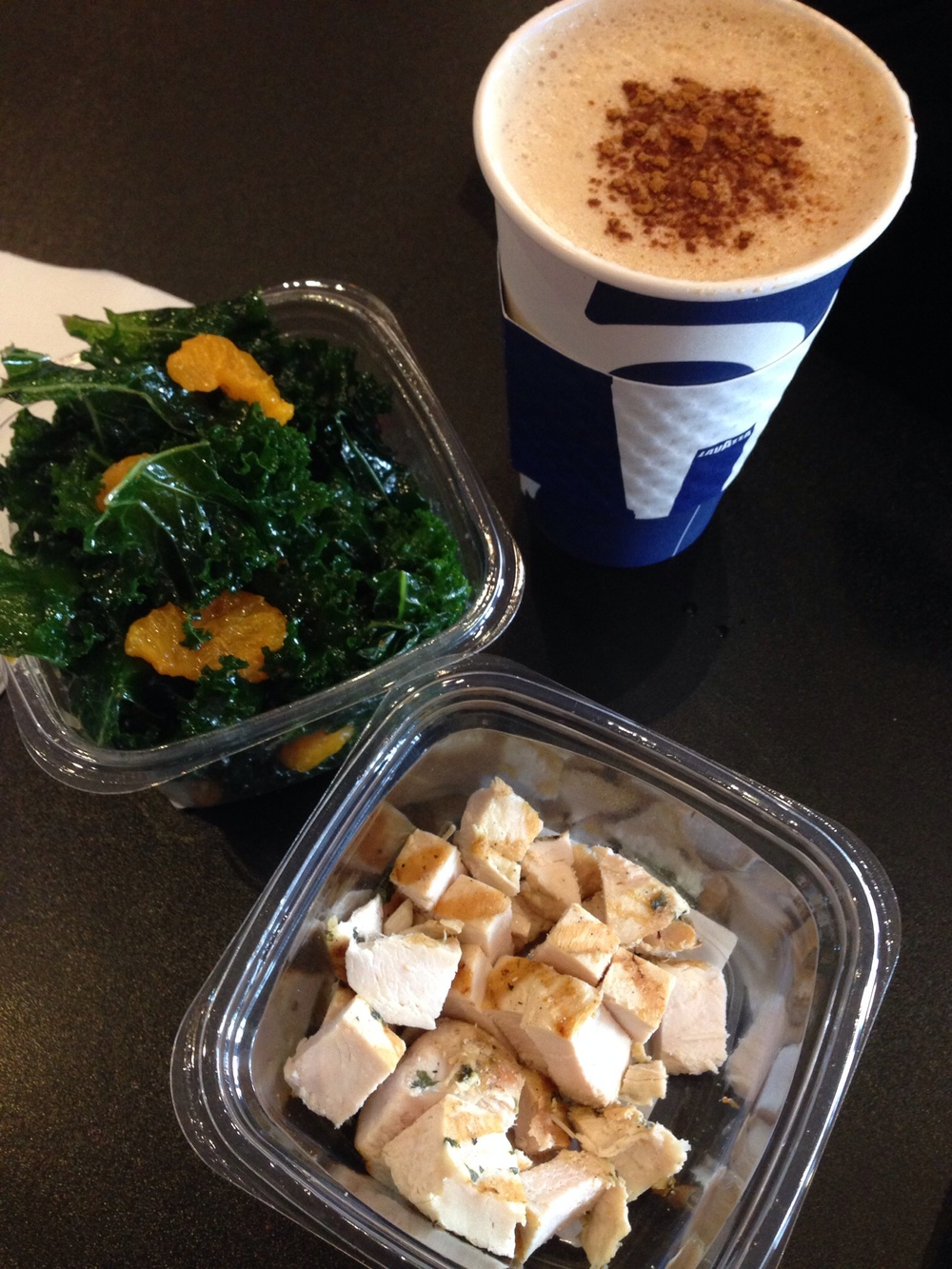 Chicken & kale Salad
