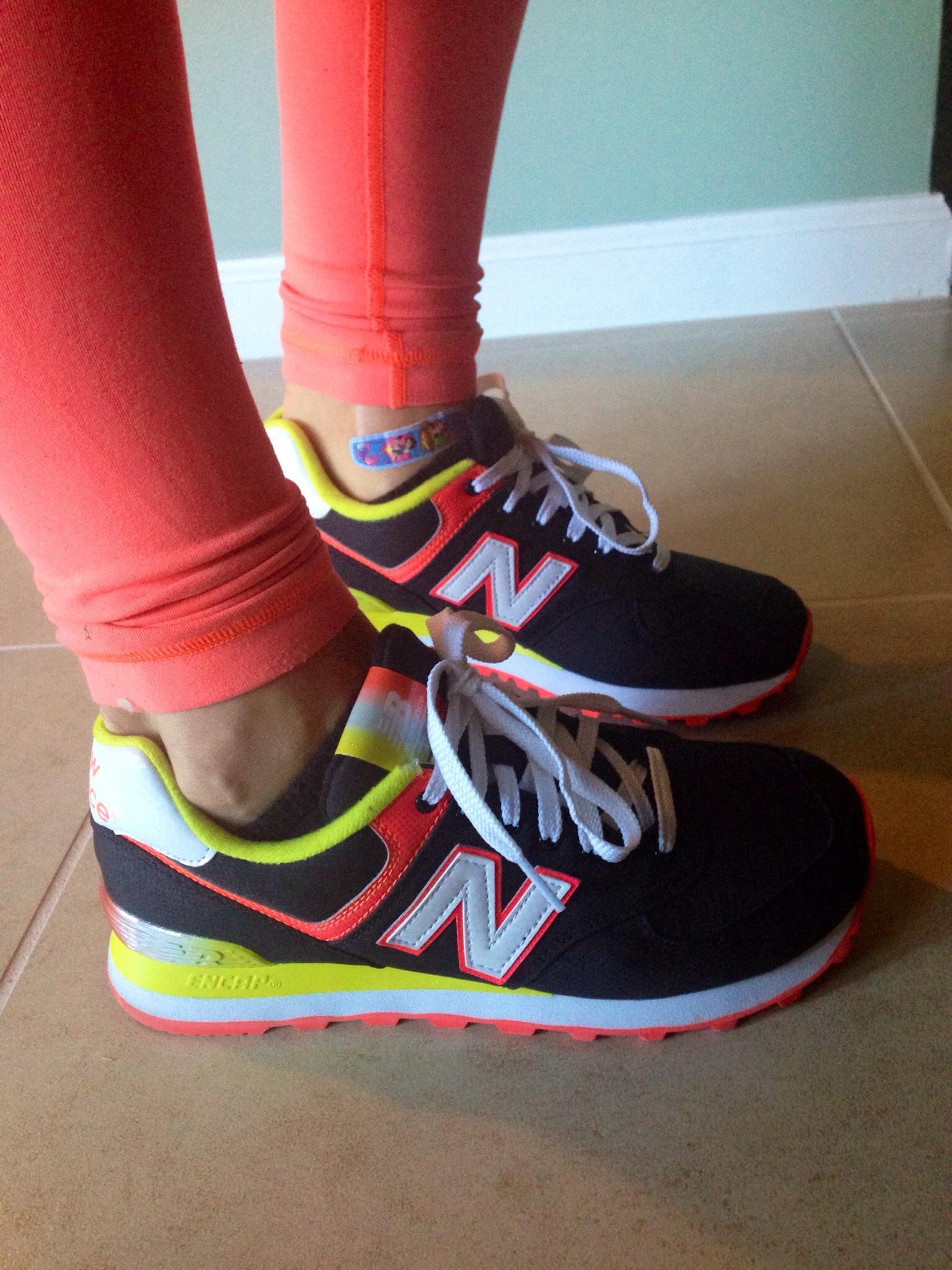 New Balance kicks