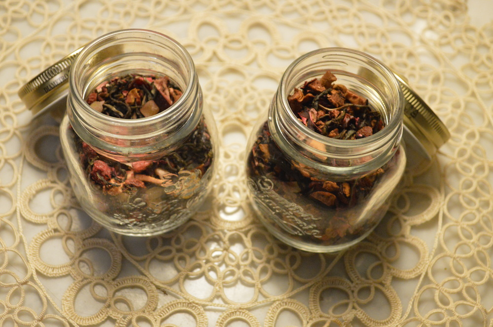 Loose leaf tea - mason jar