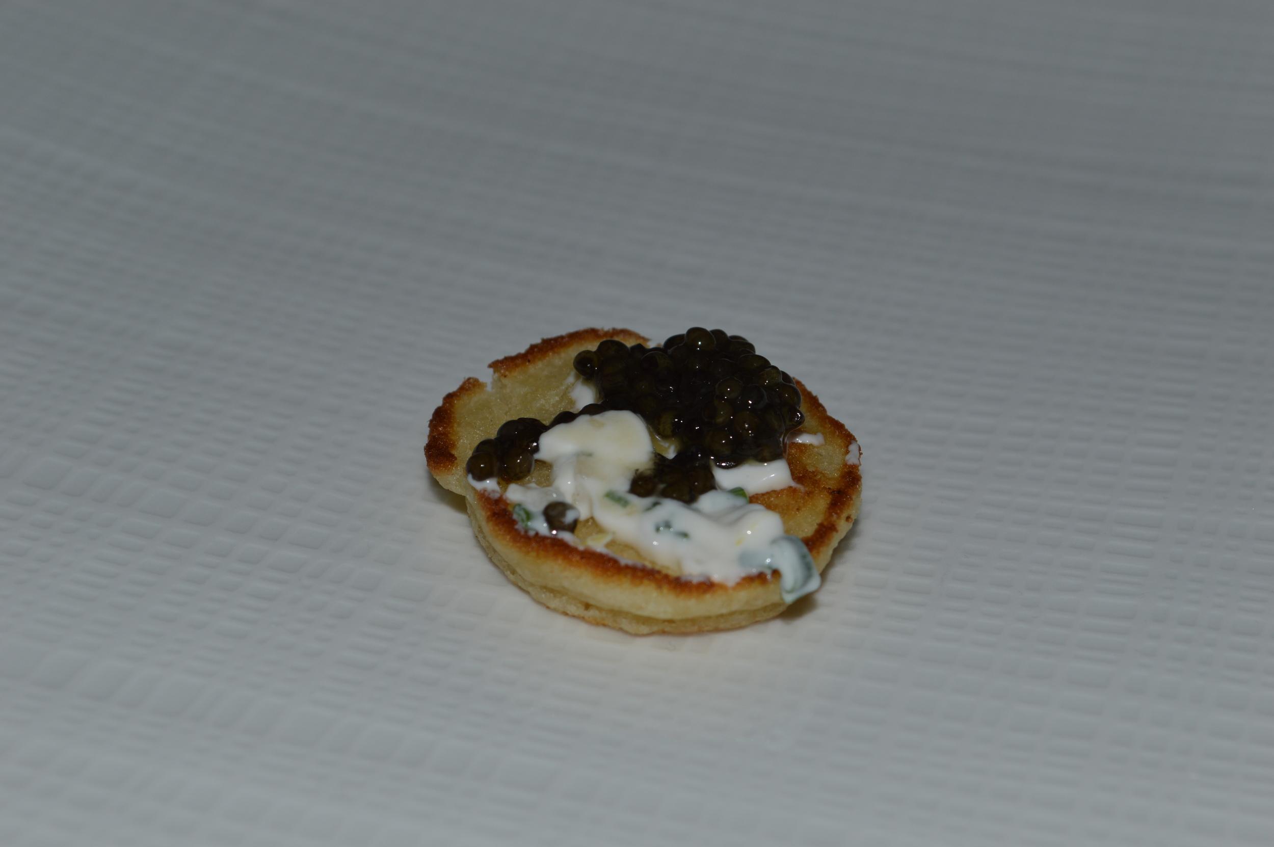 Blini + Caviar