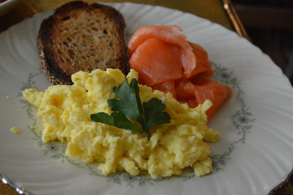 The Marlton Eggs + Smoked Salmon
