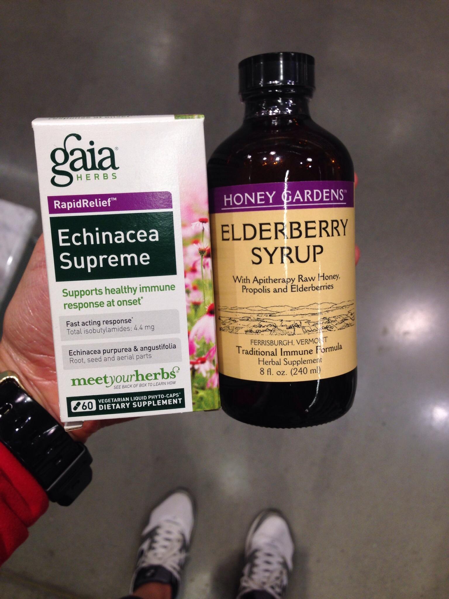 Echinacea + Elderberry Syrup