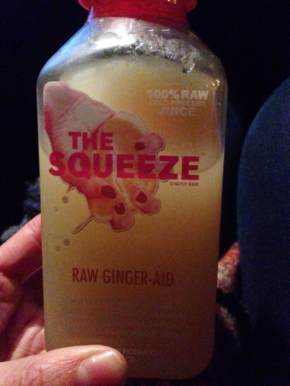 "The Squeeze ""Ginger-Aid"""