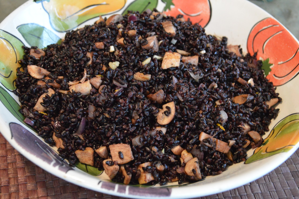 Black Rice Stir Fry
