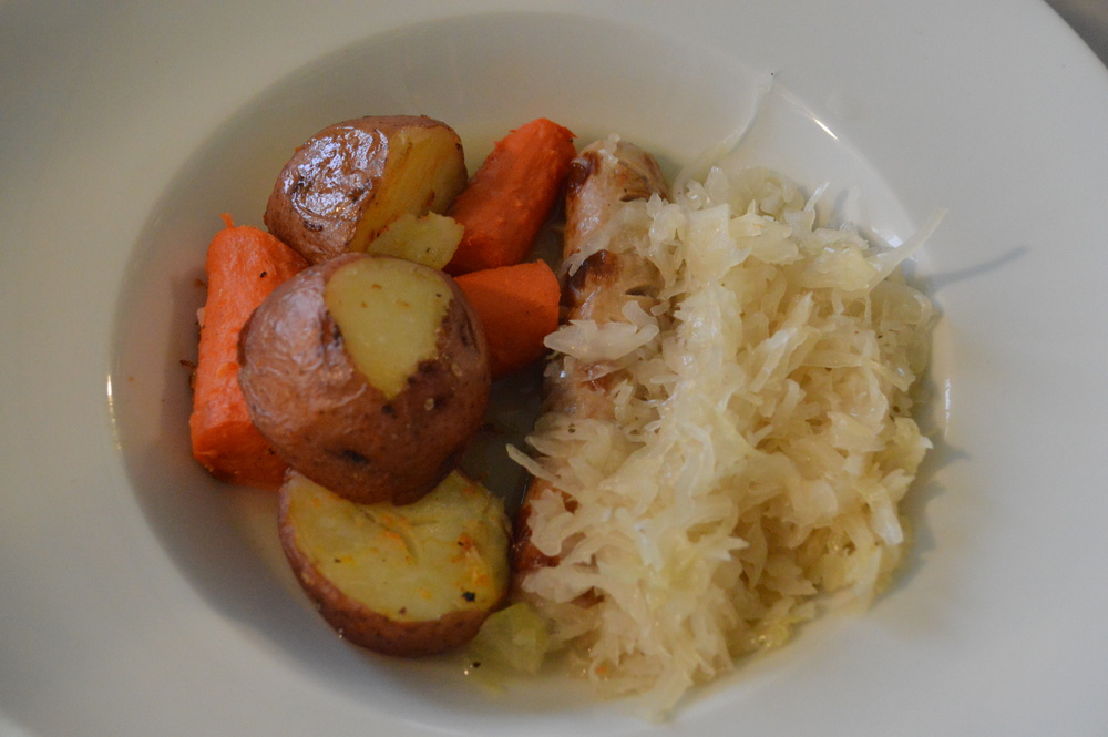 Bratwust & Sauerkraut