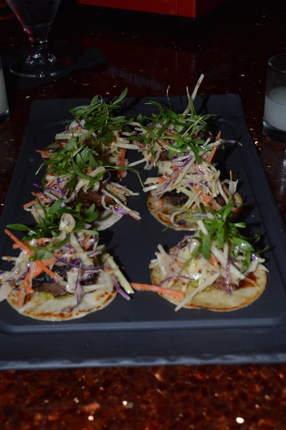 Enso Asian Bistro | Wagyu Tacos