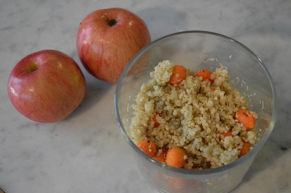 Quinoa + Carrots