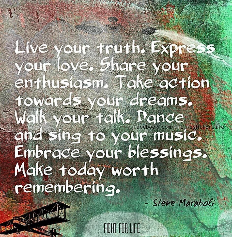 Live your Truth | Quotes