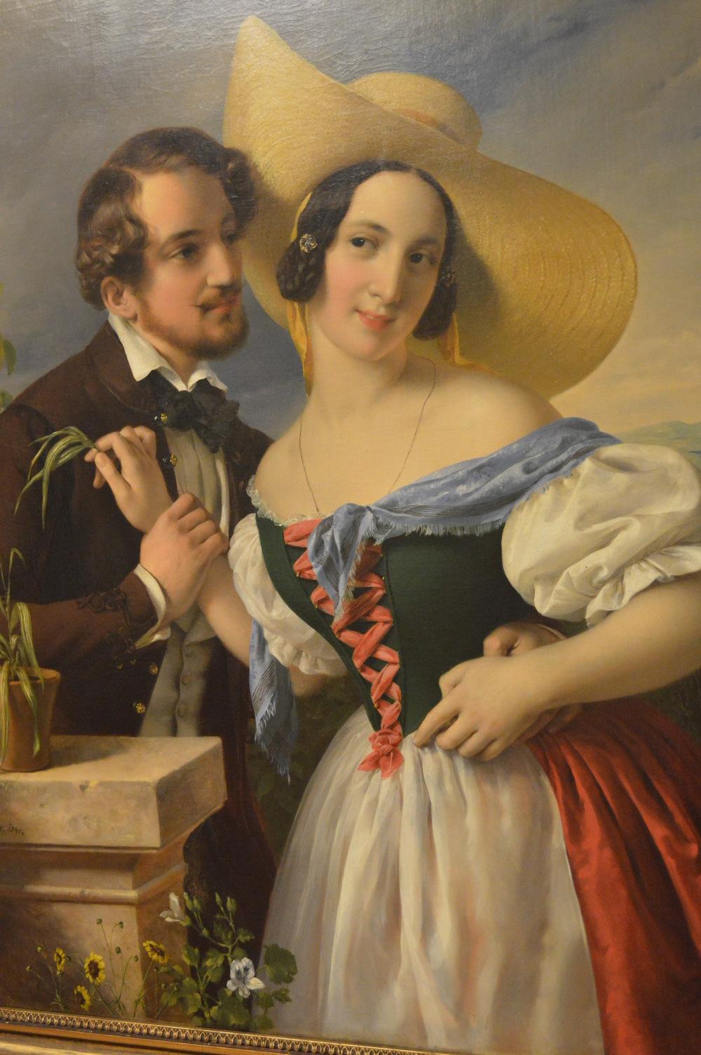 Hungarian National Gallery - Flirting