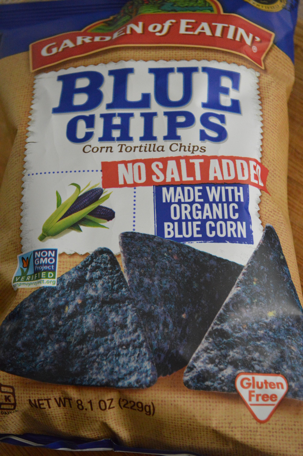 Garden of Eatin - Organic Blue Corn Chips