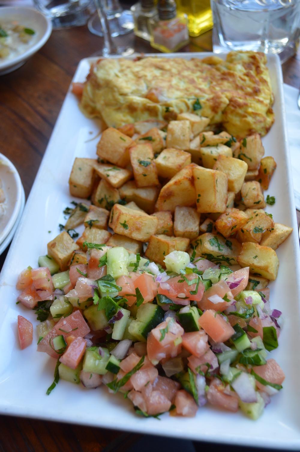 Hummus Kitchen Brunch - NYC