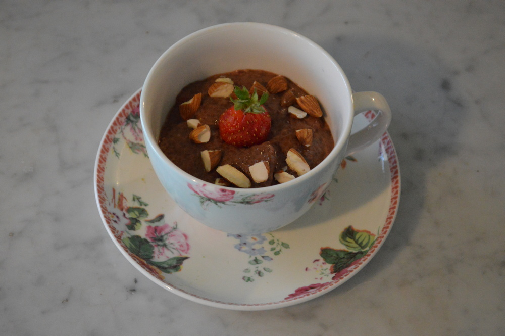 Strawberry & Cacao Chia Pud'n