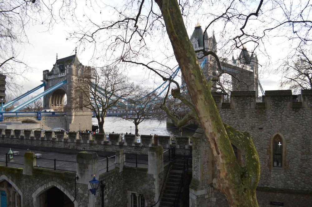 Tower of London - Tower Bridge